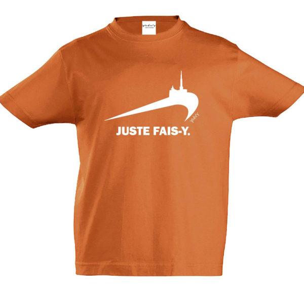 T-Shirt Juste fais-y