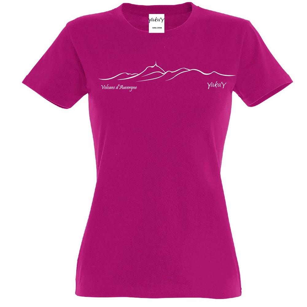 T-shirt chaine des volcans