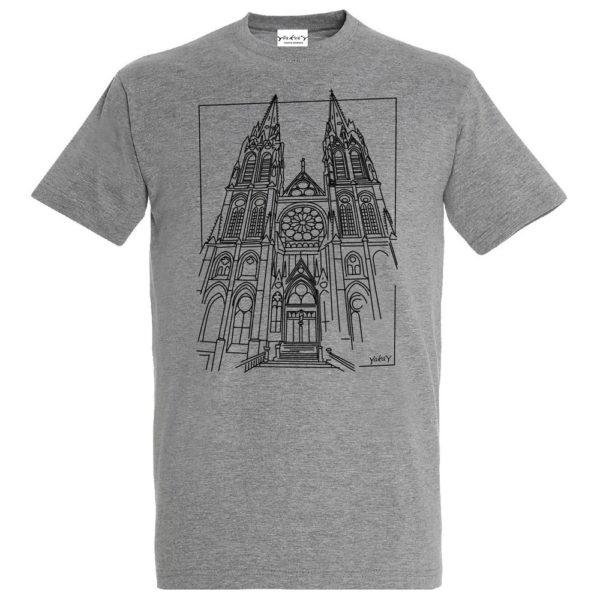 T-Shirt Cathédrale de Clermont