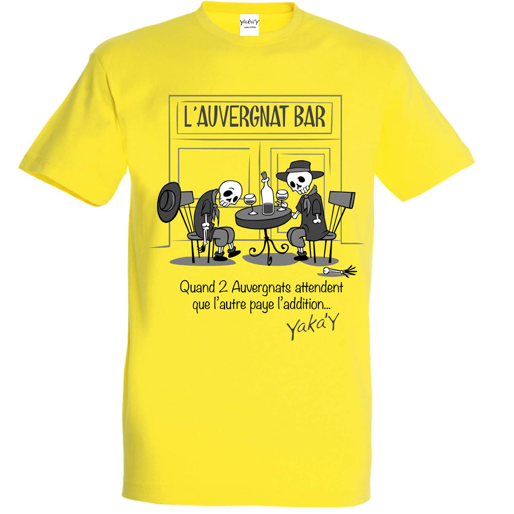 T-shirt Auvergnat bar