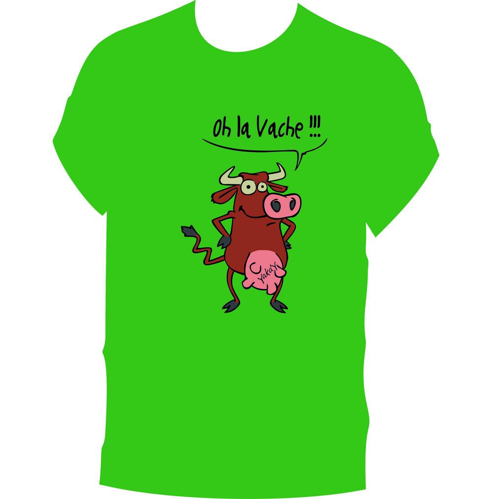 """T-Shirt """"Oh la vache"""""""