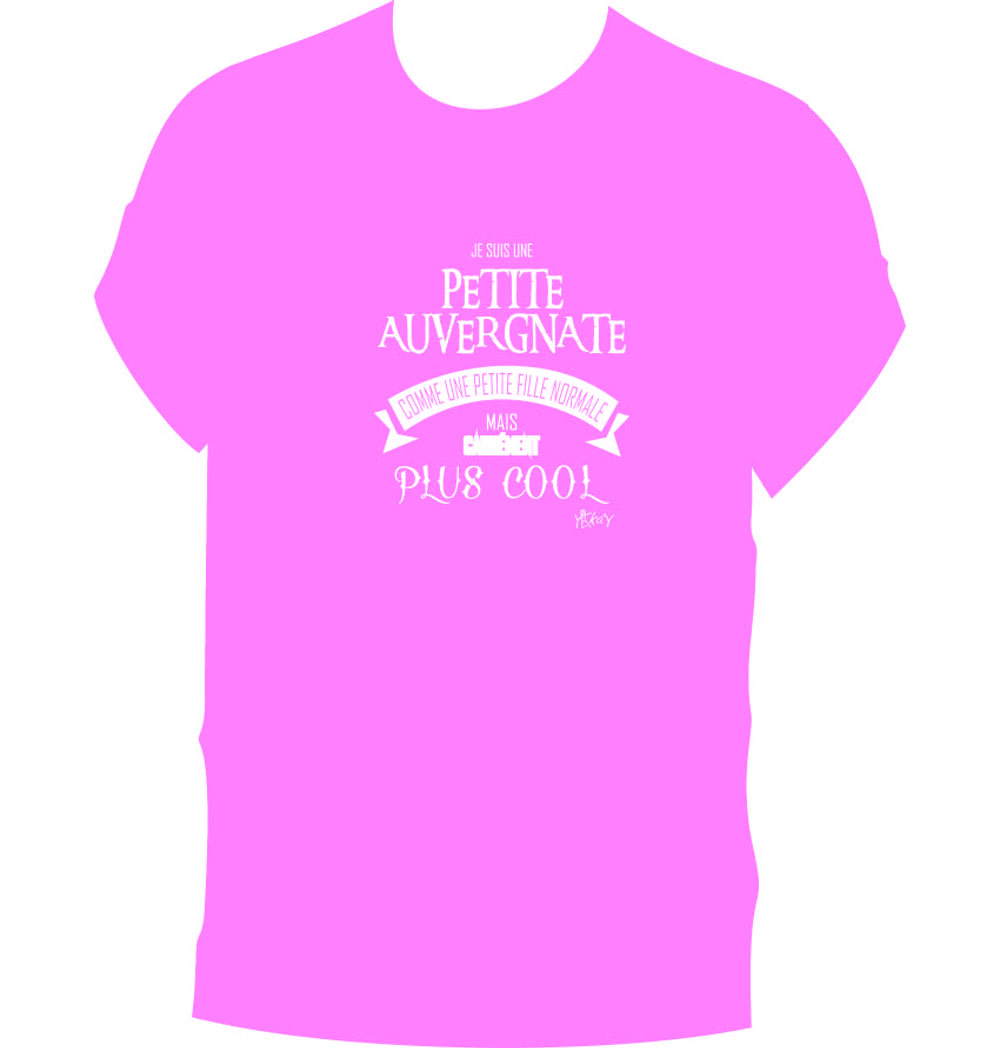 T-Shirt Fille auvergnate