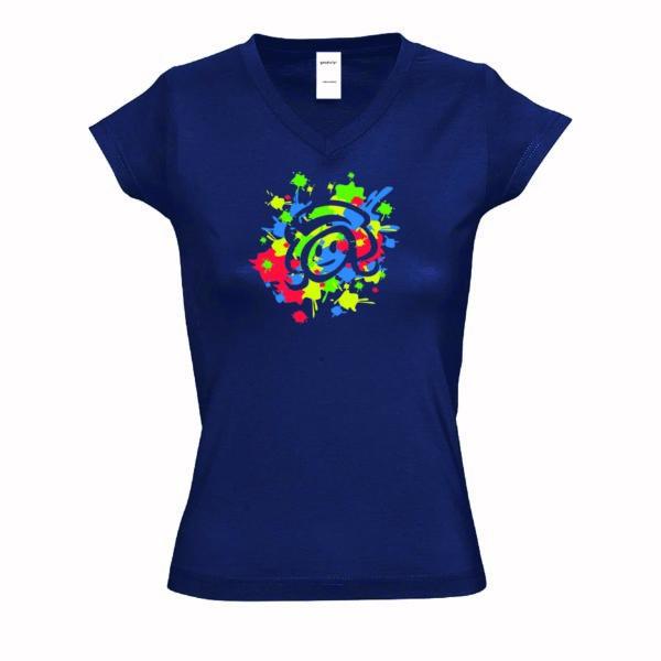 T-shirt peinture Yaka'yette
