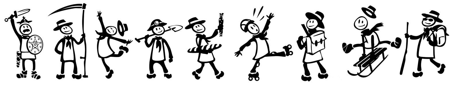 dessins bougnats yaka'y activités diverses