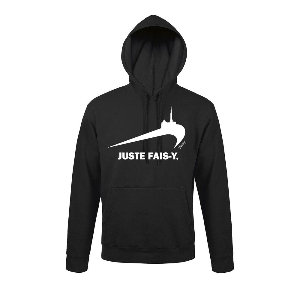 T-SHIRT JUSTE FAIS Y