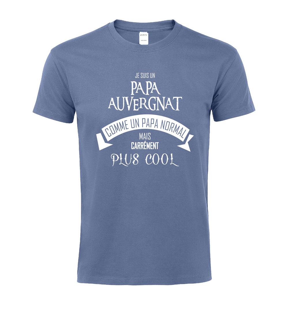 T-shirt Papa Auvergnat