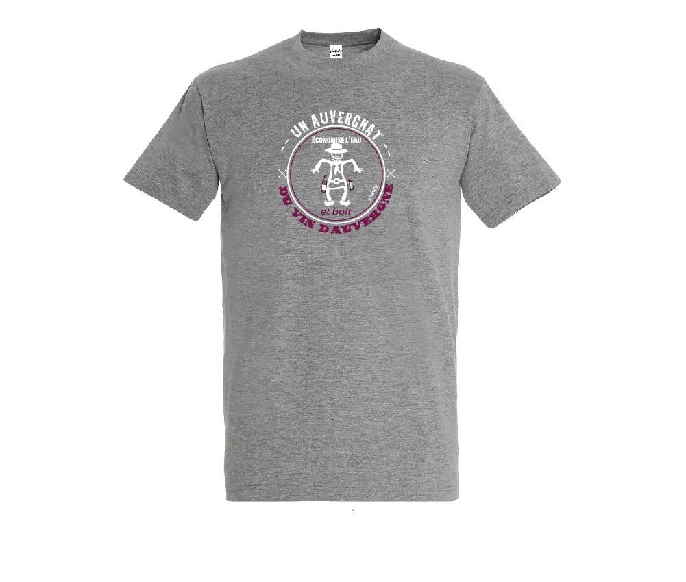 t-shirt vin d Auvergne