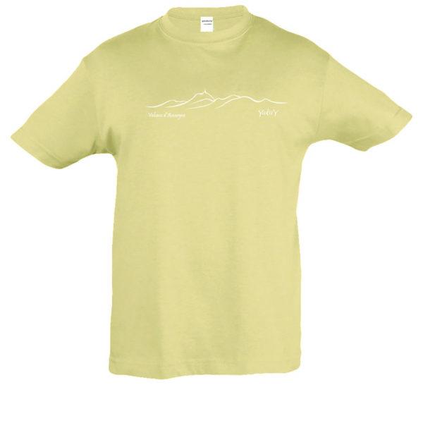T-Shirt enfant Chaîne des volcans
