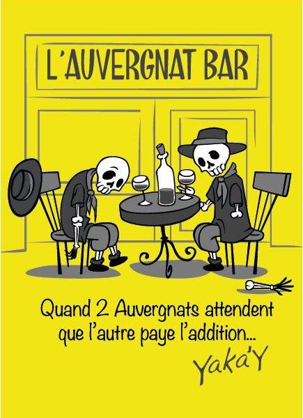 Carte postale033 Auvergnat bar