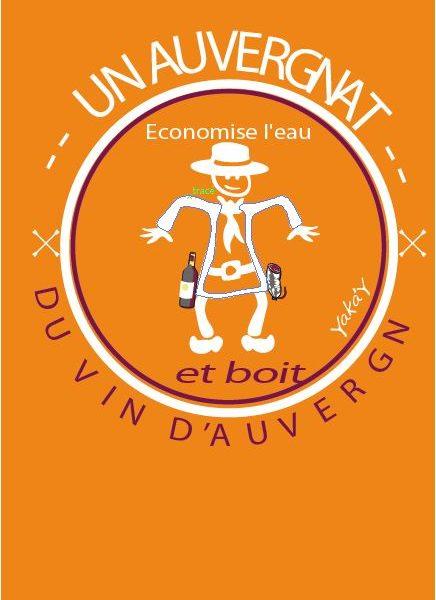 Carte postale036 Vin d' Auvergn