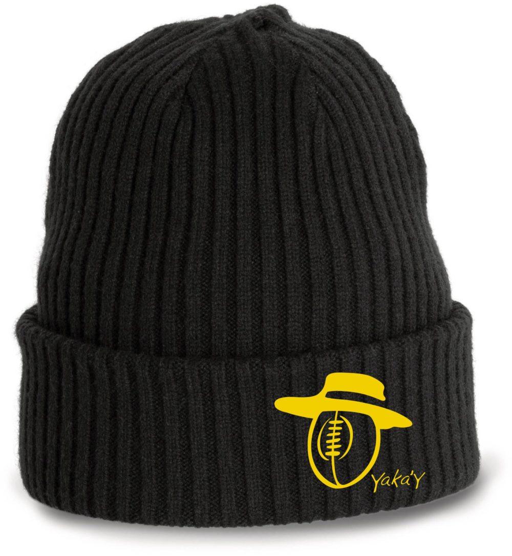 bonnet noir rugby