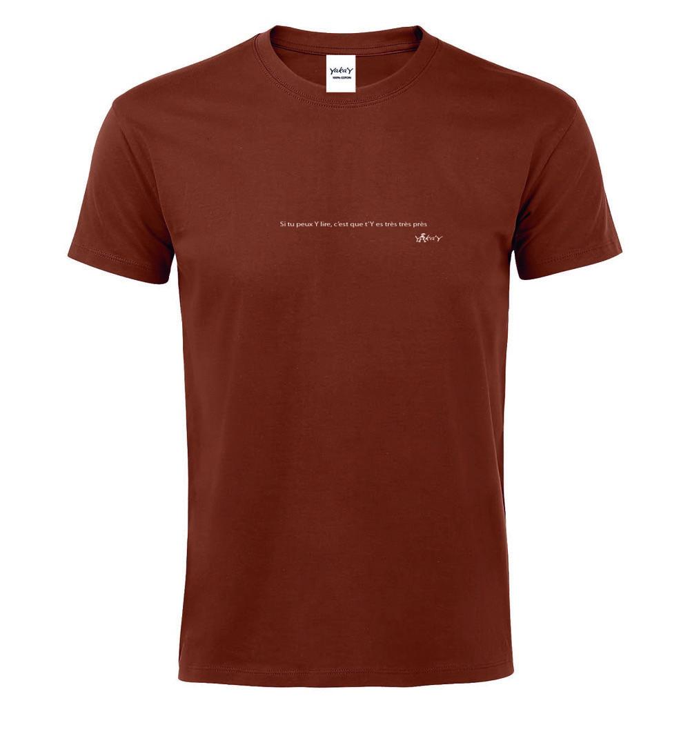 T-shirt terracotta tres tres pres