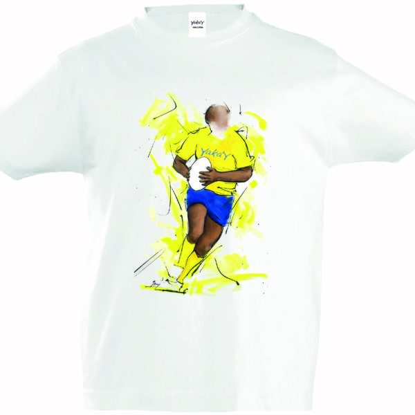T-Shirt Enfant rugby Clermont