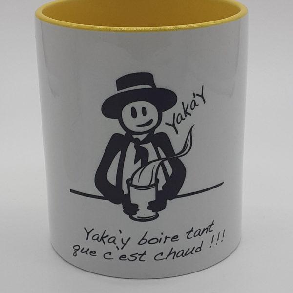 Mug yaka'y jaune