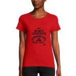 t-shirt rouge maman