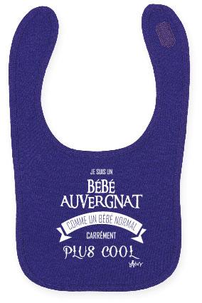 Bavoir violet