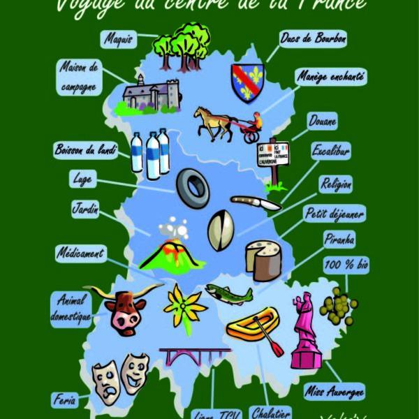 Magnet voyage au centre de la France