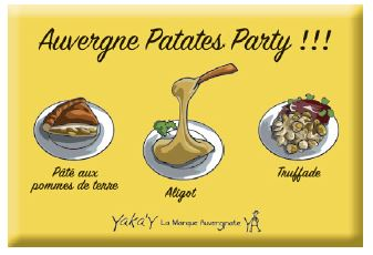magnet patates party