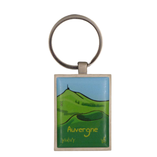porte clés paysage d'auvergne