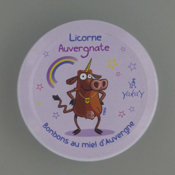 bonbon licorne