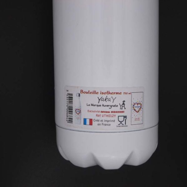 bouteille dos