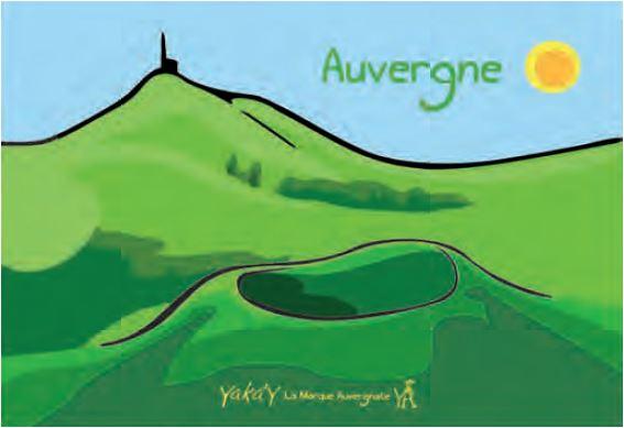 Auvergne paysage