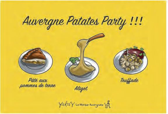 auvergne patate party