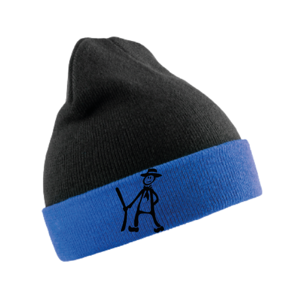 bonnet recycle bleu